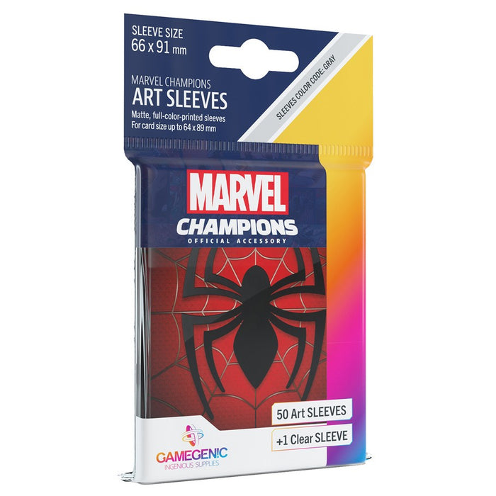 Marvel Champions LCG: Art Sleeves - Spider-Man (Pre-order) Dec 2020
