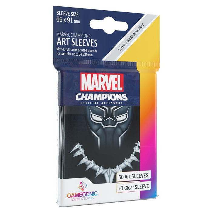 Marvel Champions LCG: Art Sleeves - Black Panther (Pre-order) Dec 2020