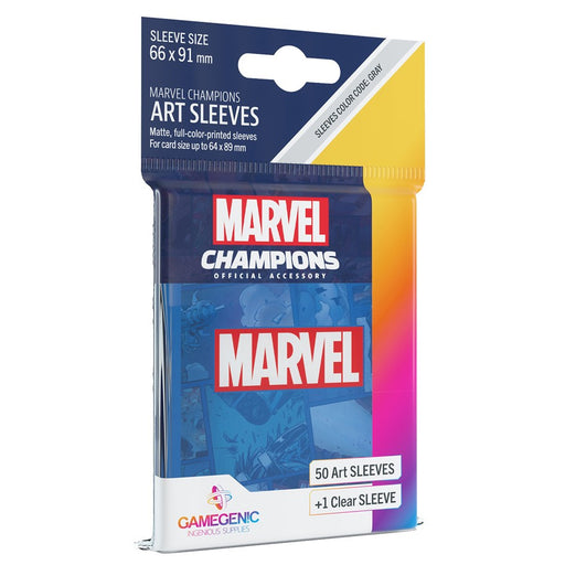 Marvel Champions LCG: Art Sleeves - Marvel Blue (Pre-order) Dec 2020