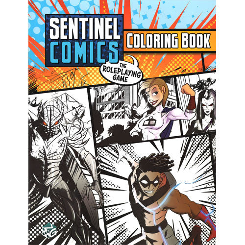 Sentinel Comics RPG: Coloring Book