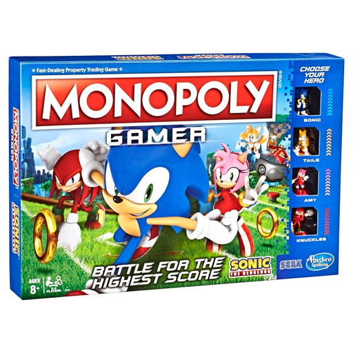 Monopoly Sonic Board Game