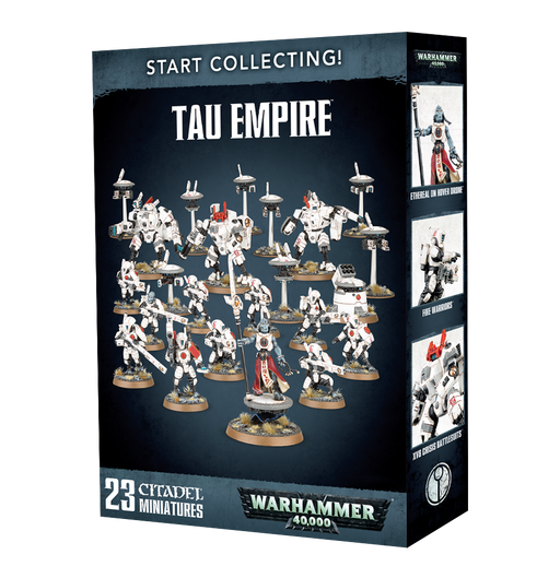 Warhammer 40K: Start Collecting! T'au Empire Miniatures