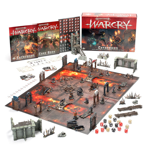 Warhammer Age of Sigmar: Warcry: Catacombs Miniature Game