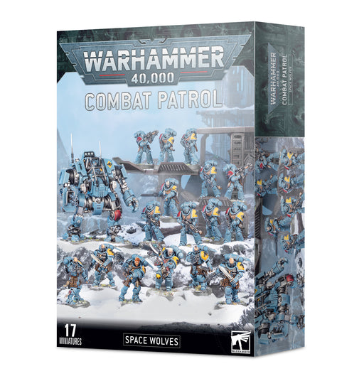53-37 Warhammer 40,000: Combat Patrol: Space Wolves Miniature Set
