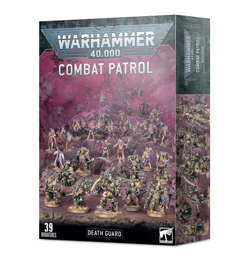 43-75 Warhammer 40k: Combat Patrol: Death Guard Miniature Game