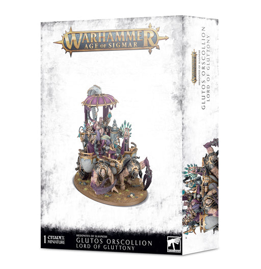 83-82 Warhammer Age of Sigmar: Hedonites of Slaanesh: Glutos Orscollion Lord of Gluttony Miniature