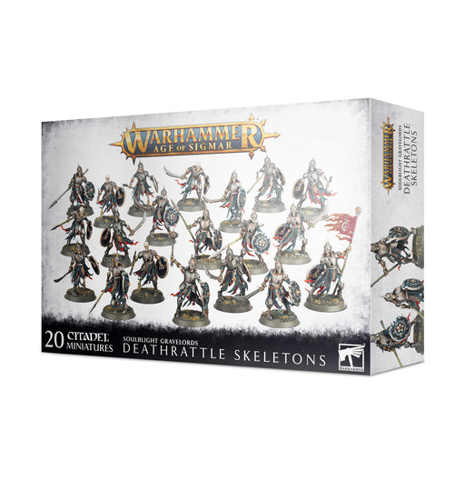 91-42 Warhammer Age of Sigmar: S/Blight G/Lords: Deathrattle Skeletons (Pre-order) May 2021