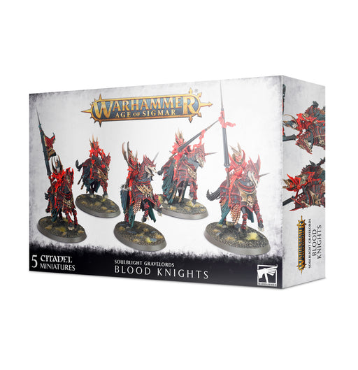 91-41 Warhammer Age of Sigmar: Soulblight Gravelords: Blood Knights (Pre-order) May 2021
