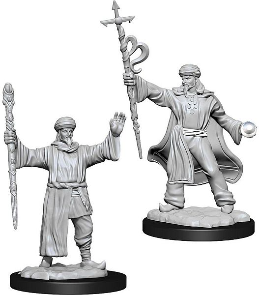 Dungeons and Dragons D&D: Nolzur's Marvelous Minis: Human Wizard Male W13 Miniature