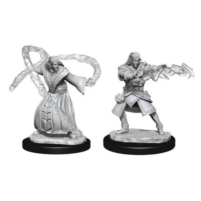 Dungeons and Dragons D&D: Nolzur's Marvelous Minis: Elf Wizard Male W13 Miniatures