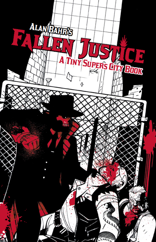 Fallen Justice: Tiny Supers Role Playing Game (Pre-order)