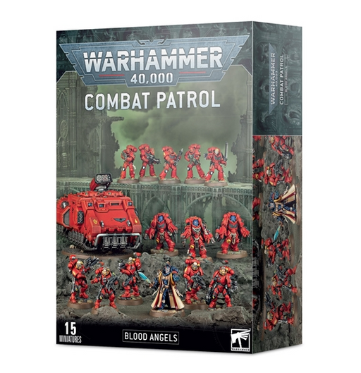 41-25 Warhammer 40,000: Combat Patrol: Blood Angels Miniature Set