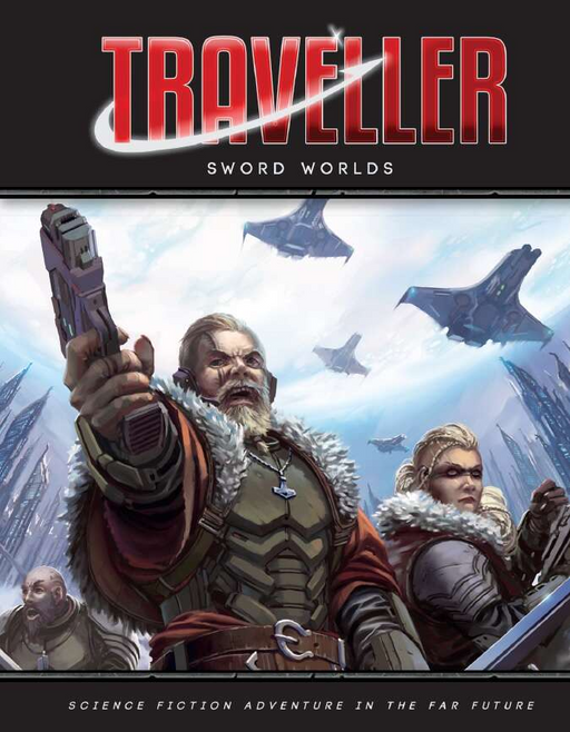 Sword Worlds: Traveller Role Playing Game (Pre-order)