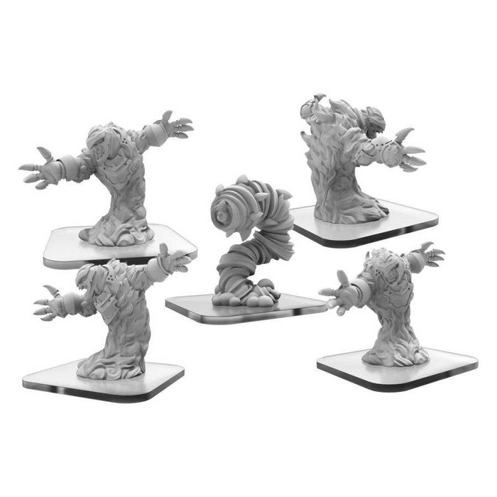 Monsterpocalypse: Elemental Champions: Fire Kami and Air Avatar Miniature Set (Pre-order) Mar 2021