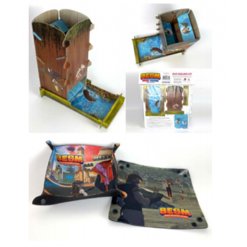 Big Eyes, Small Mouth: Dice Tower and Trays (Pre-order) Feb 2021