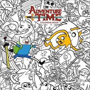 Adventure Time Coloring Art Book V.1