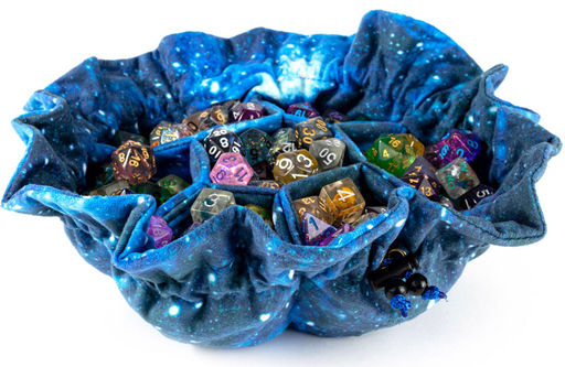 Galaxy Dice Bag with Pockets (Pre-order) May 2021