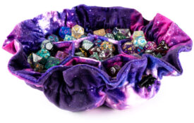 Nebula Dice Bag with Pockets (Pre-order) May 2021