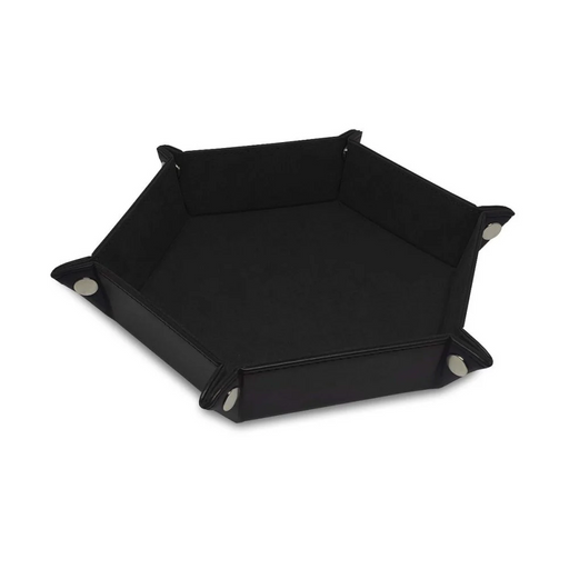 Dice Tray: LX: Hex: Black