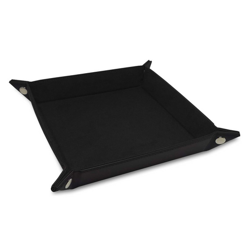 Dice Tray: LX: Square: Black (Pre-order) May 2021