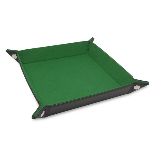 Dice Tray: LX: Square: Green (Pre-order) May 2021
