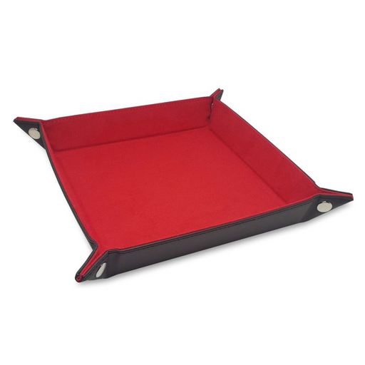 Dice Tray: LX: Square: Red (Pre-order) May 2021