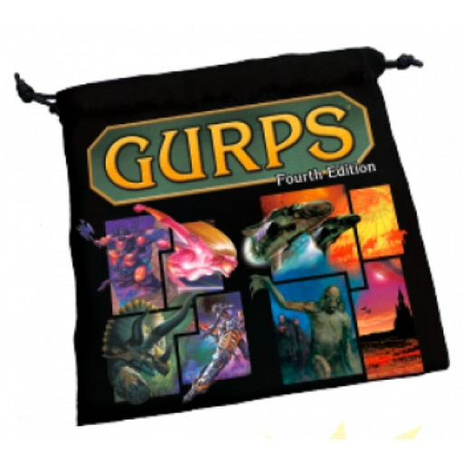 GURPS: Dice Bag 4th Edition (Pre-order) Jul 2021