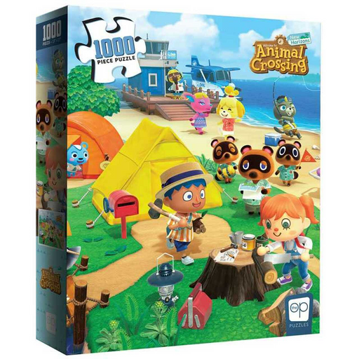 Welcome To Animal Crossing 1000pcs Puzzle (Pre-order) Apr 2021