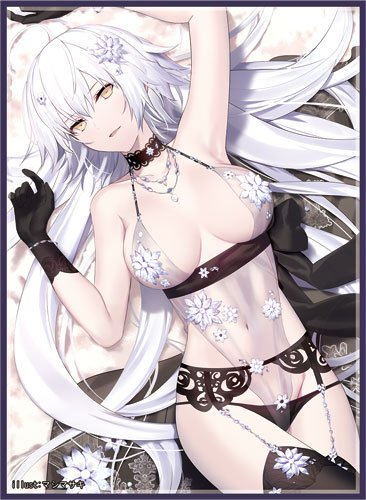 C96 Fate Grand Order - Jeanne d'Arc Alter Avenger Royal Icing Ver. Circle Frontier Game - Doujin Mature Character Sleeves