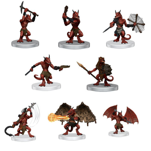 Dungeons & Dragons Icons of the Realms: Kobold Warband Miniatures (Pre-order) Jun 2021