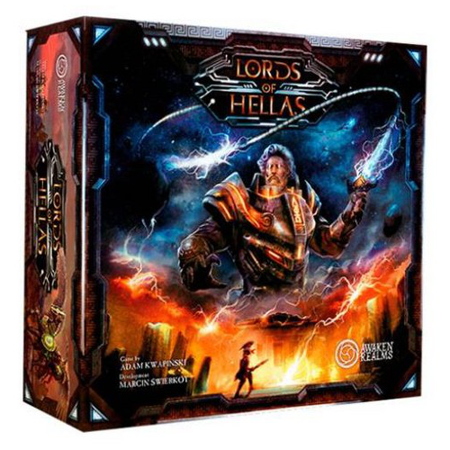 Lords of Hellas Board Game (Base Game)