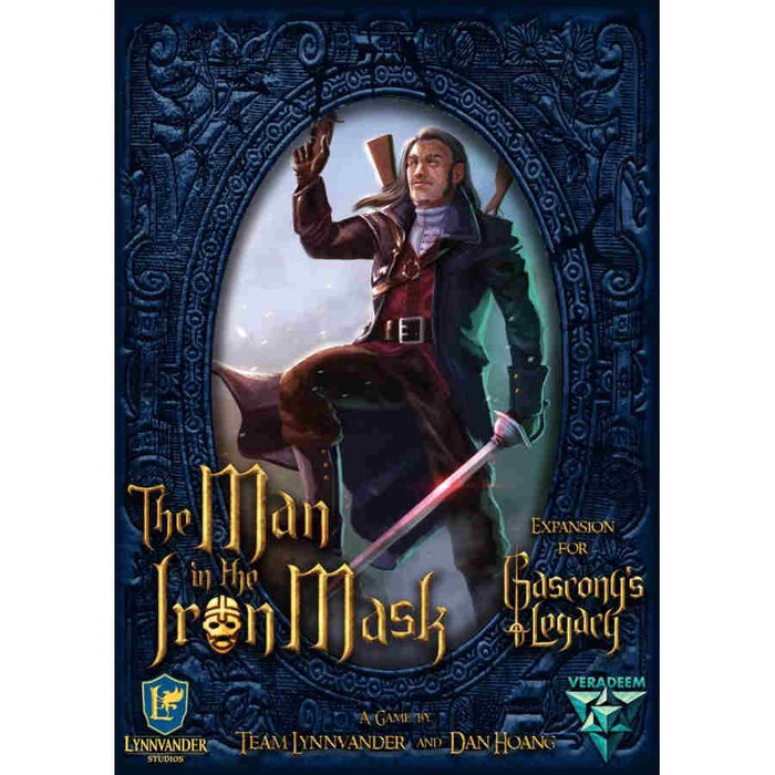 Gascony's Legacy: Man In the Iron Mask Expansion Board Game (Pre-order) Feb 2021