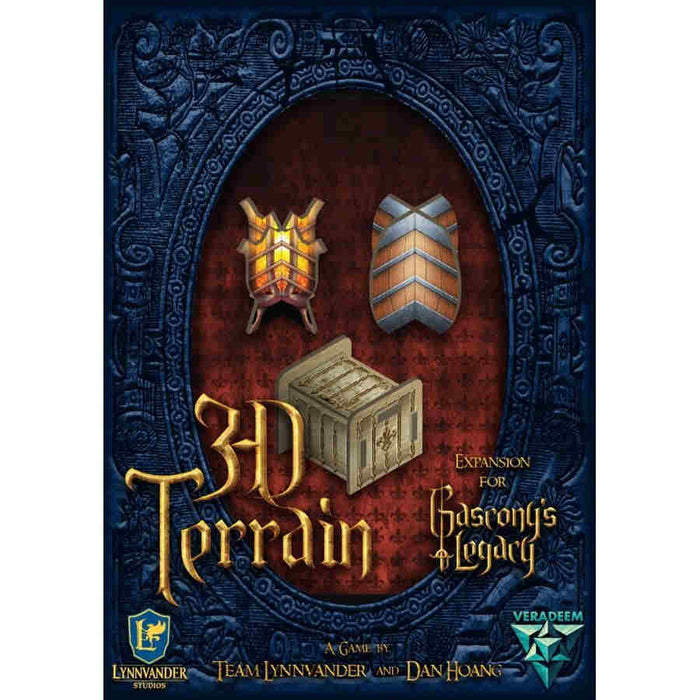 Gascony's Legacy: 3D Terrain Expansion Board Game (Pre-order) Feb 2021