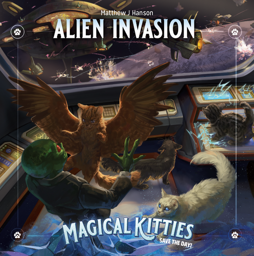 Magical Kitties: Alien Invasion Role Playing Game (Feb 2021) Pre-order
