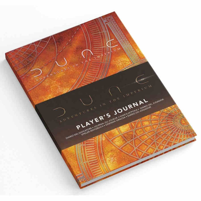 Dune RPG: Player's Journal (Pre-order) Apr 2021