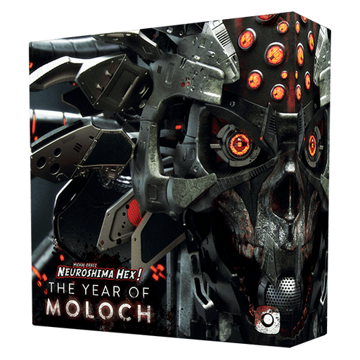Neuroshima Hex 3.0: The Year of Moloch Board Game (Pre-order)