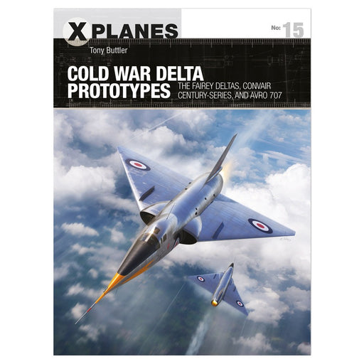 Cold War Delta Prototypes Book (Pre-order) Dec 2020