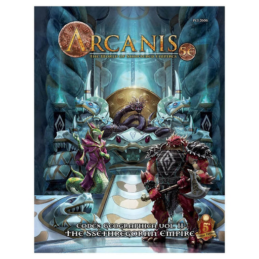 Dungeons & Dragons 5th Edition: Arcanis: The Ssethregoran Empire Role Playing Game