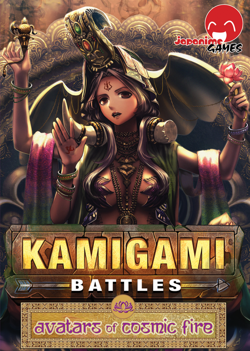 Kamigami Battles: Avatars of Cosmic Fire Expansion Board Game