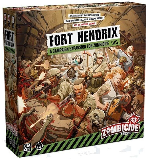 Zombicide 2nd Edition: Fort Hendrix Board Game (Pre-order) Jun 2021