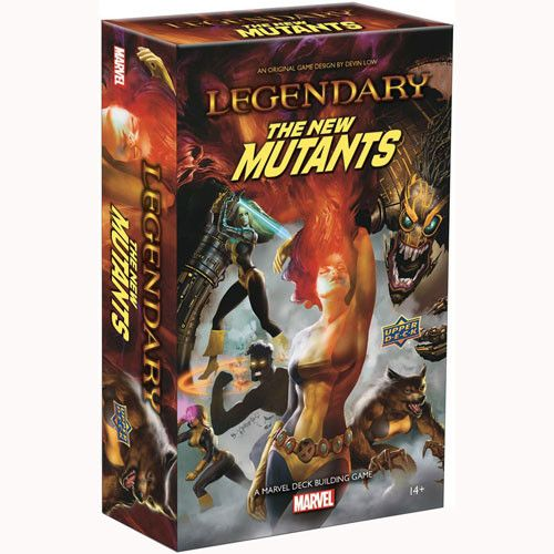 Marvel Legendary: New Mutants Expansion Board Game