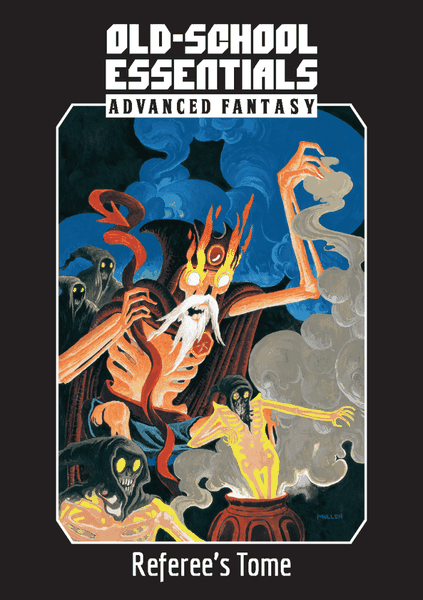 Old-School Essentials: Advanced Fantasy: Referee's Tome RPG Book (Pre-order) Mar 2021