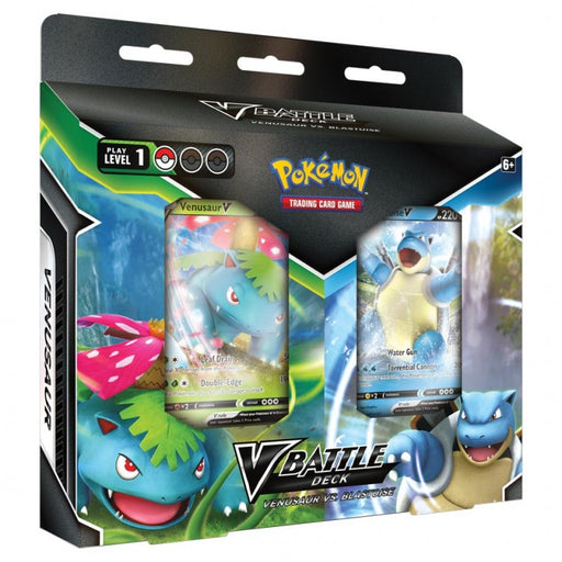 Pokemon V Battle Deck - Venusaur vs Blastoise Combo Box