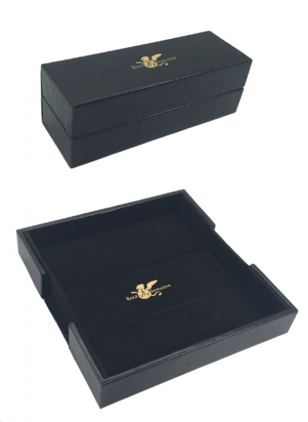 Dice Box & Rolling Tray: Luxury Faux Leather (Pre-order) Apr 2021