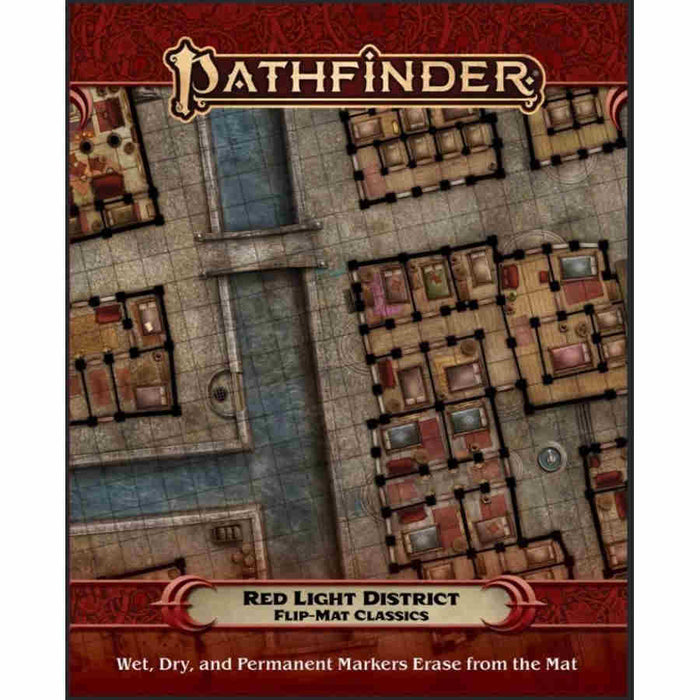 Pathfinder 2nd Edition: Flip-Mat Classics: Red Light District (Pre-order) Feb 2021