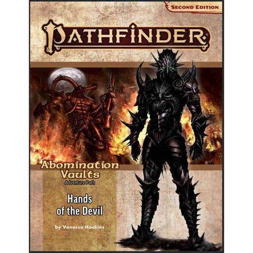 Pathfinder 2nd Edition: Adventure Path: Hands of the Devil: Abomination Vaults 2/3 RPG