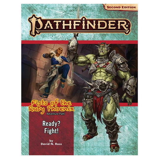 The Pathfinder 2E: Adventure Path: Ready? Fight! (FotRP 2/3) Role Playing Game (Pre-order) May 2021
