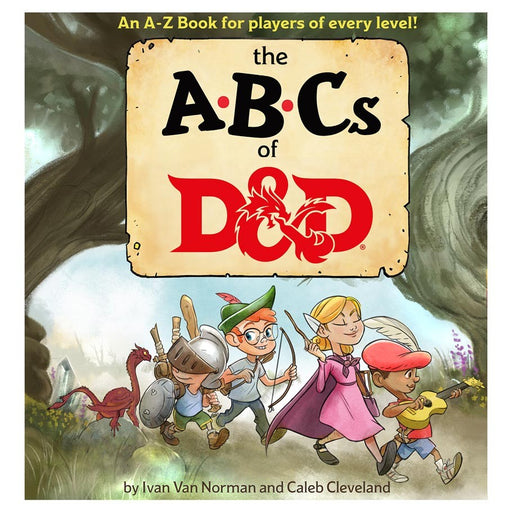ABCs of D&D Dungeons and Dragons Novel (Pre-order) Feb 2021