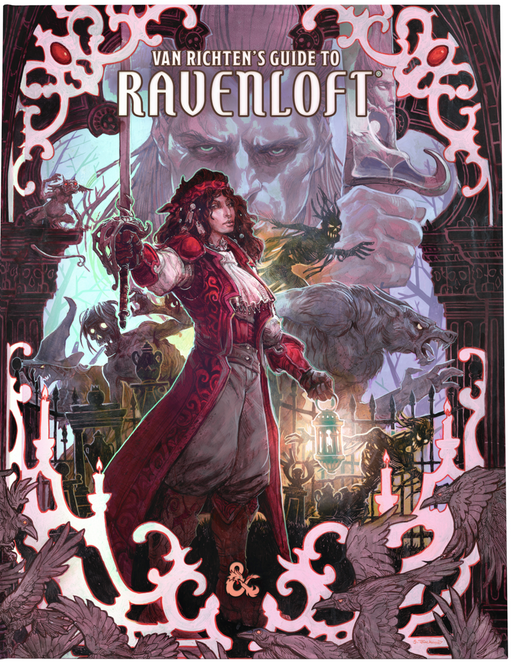 Dungeons and Dragons RPG: Van Richten`s Guide to Ravenloft Hard Cover - Alternate Cover (Pre-order) May 2021