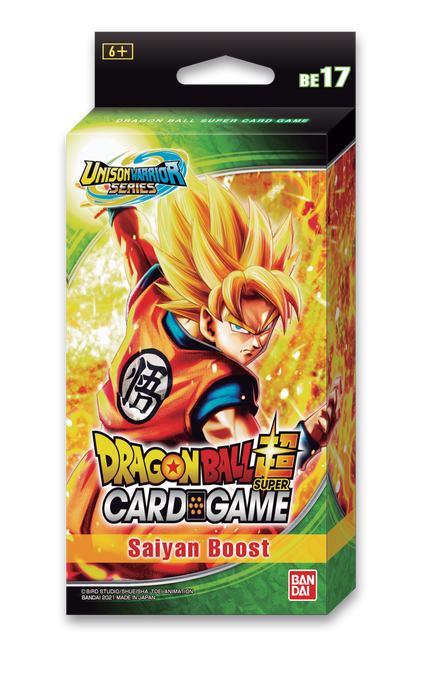 Dragon Ball Super TCG: Expansion Set 17 Saiyan Boost - 1 Pack (Pre-order) Jun 2021